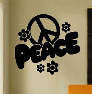 30 best images about etsy shop decorative vinyl graphics With good look peace sign wall decals
