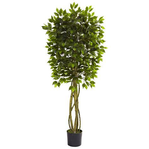 large ficus tree artificial 5 5 ficus tree uv resistant indoor outdoor 3651