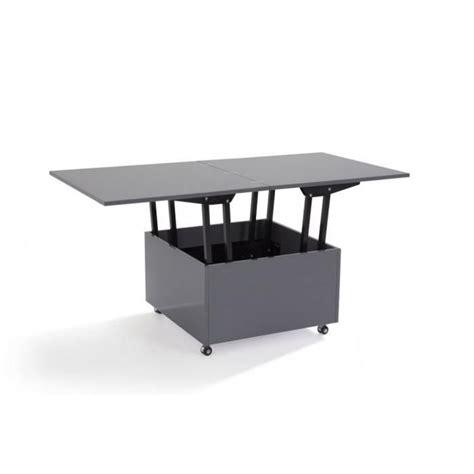 chaise bureau solde table basse relevable extensible giani grise achat vente