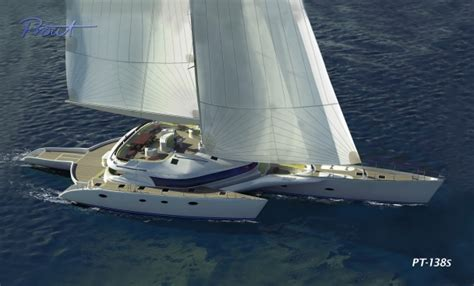 Trimaran Fund by World S Largest Sailing Trimaran Prout Pt 138 Yacht