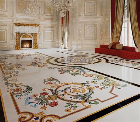 Classic Interiors  Luxury  Budri  Italian Marble Inlay