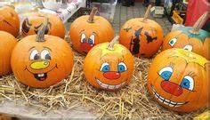 Bemalte Kürbisse Vorlage : painted pumpkin faces halloween pinterest k rbis ~ Markanthonyermac.com Haus und Dekorationen