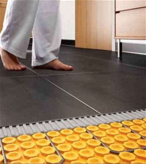 heating tile flooring without damage to tiles or grout