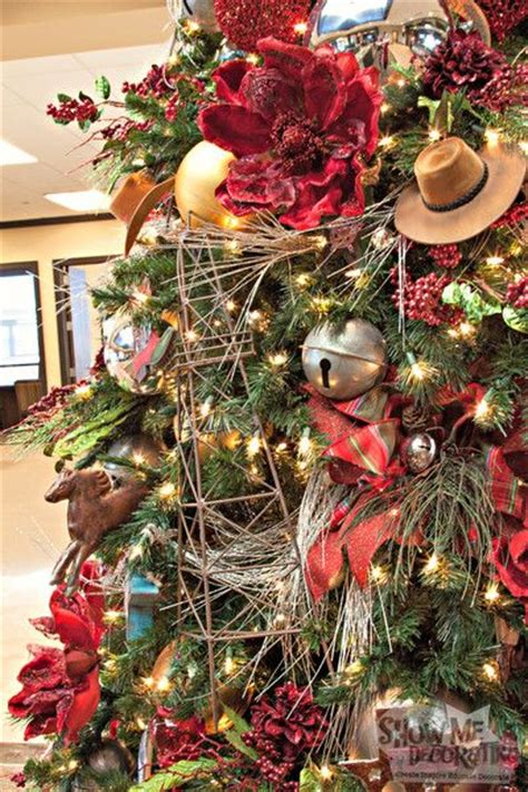 western christmas decorating ideas southern blue celebrations western cowboy