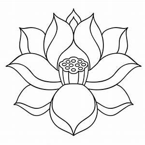 Dessin Fleurs De Lotus : fleur de lotus zen coloriage fleur de lotus zen en ligne gratuit a imprimer sur coloriage tv ~ Dode.kayakingforconservation.com Idées de Décoration