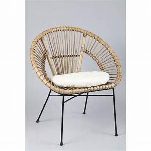 Fauteuil En Rotin : fauteuil rotin 765 ~ Teatrodelosmanantiales.com Idées de Décoration