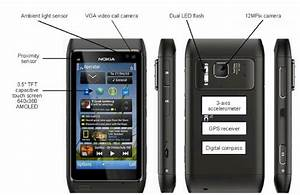 Modern Mobile Communication Device With Multiple Sensors  Nokia N8