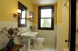 craftsman style bathroom remodeled bathrooms