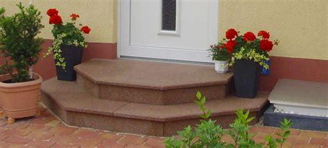 außentreppe mit podest stein fimexo au 223 entreppen aussen treppen home