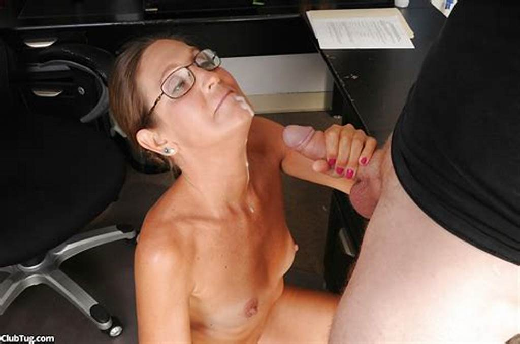 #Smiley #Mature #Lady #In #Glasses #Gets #Tricked #Into #Handjob