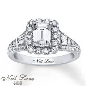 neil engagement rings jewelers neil engagement ring 1 7 8 ct tw diamonds 14k white gold