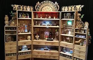 Cabinet De Curiosit Magicien Alchimiste Magie Bizarre