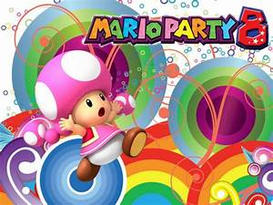Toadette walpaper-Mario party 8 by Gabi36 on DeviantArt