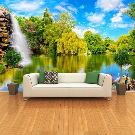custom  photo wallpaper embossed wallpaper  living