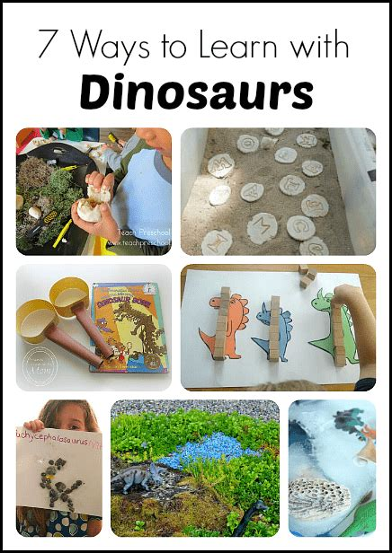 7 creative ways to learn with dinosaurs and fossils 522 | dinosaur header