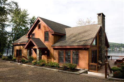 Quiet Waters Vacation Home-rustic-exterior-boston