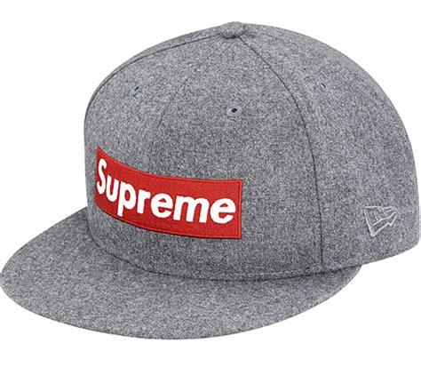 new era supreme new era x supreme box logo 59fifty fitted cap with