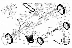 35 Husqvarna Mower Drive Belt Diagram