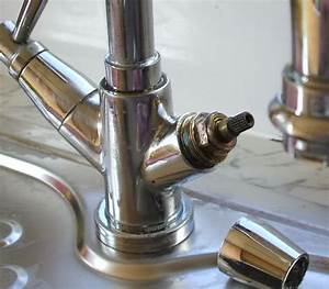 Replacing washers on monoblock mixer tap for How to change a washer on a bathroom mixer tap