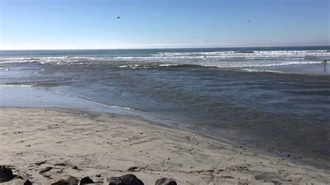 the lagoon meets the pacific ocean at low tide youtube
