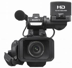 Sony HXR-MC2500 Shoulder Mount Professional Video Camera ...
