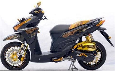 Cutting Sticker Vario by Foto Modifikasi Honda Vario 150 Cutting Sticker Paling
