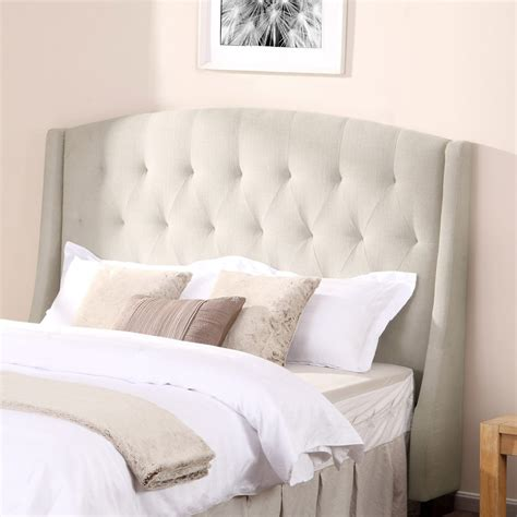 Padded Wall Panelsfabric Double Bed With Upholstered