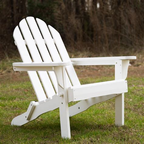 exclusive folding wood adirondack chair essentials by dfo