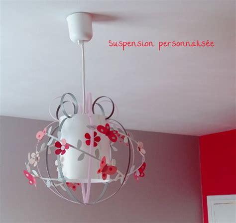 suspension pour chambre fille suspension papillon luminaire chambre enfant le