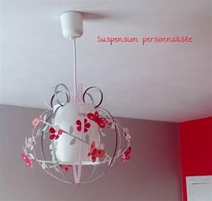 Suspension Chambre Bébé : suspension papillon luminaire chambre enfant lampe ~ Voncanada.com Idées de Décoration