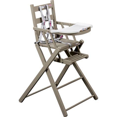 chaise haute bébé pliante chaise haute bébé pliante gris de combelle en vente