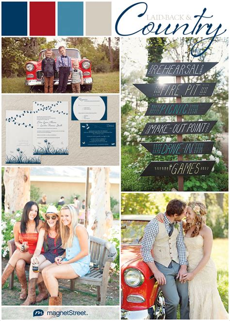 labor day wedding colors inspiration  engaging