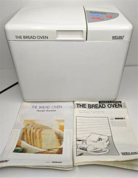 Maybe you would like to learn more about one of these? Welbilt Bread Maker Machine Oven Model ABM600-1 with Manual & Recipe Book Japan | eBay