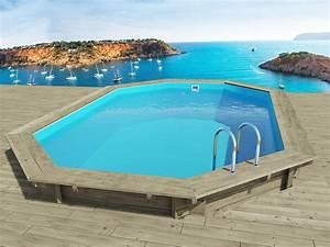 Bache Sol Jardin : piscine bois miami x x m 66231 ~ Teatrodelosmanantiales.com Idées de Décoration