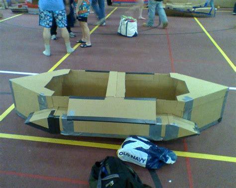 Avon Cardboard Boat Regatta by 25 Best Cardboard Boat Race Ideas On Diy Boat
