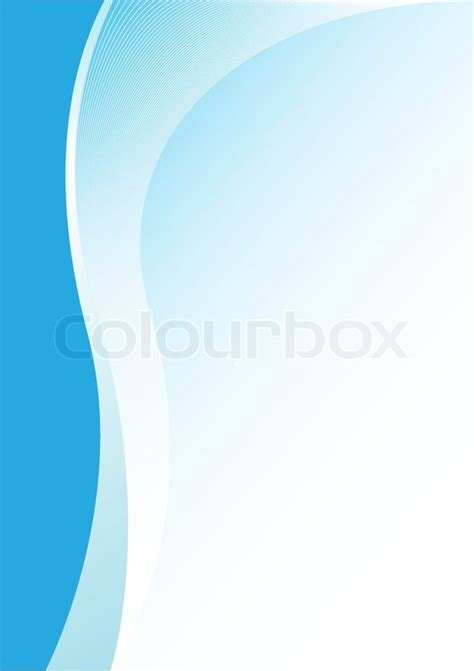 simple abstract blue vertical stock vector colourbox