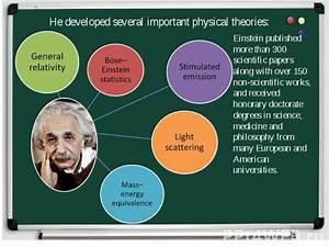 """Презентация к уроку английского языка """"Albert Einstein ..."""