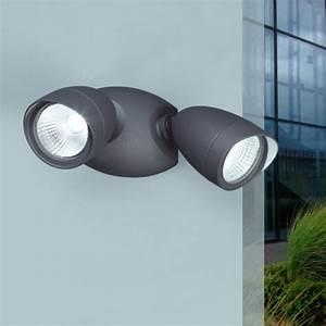 Projecteur Exterieur Double : double projecteur ext rieur led 2x11 w 4000 k ~ Edinachiropracticcenter.com Idées de Décoration