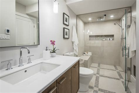 white tile bathroom designs top kitchen and bath trends for 2017 mcgillivray