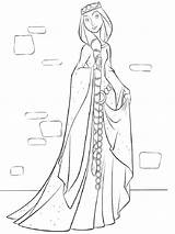 Queen Coloring Pages Printable sketch template