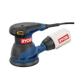 ryobi 5 in random orbit sander rs290 the home depot
