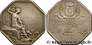 bretagne medailles et jetons du xixe siecle jeton With chambre de commerce de saint nazaire
