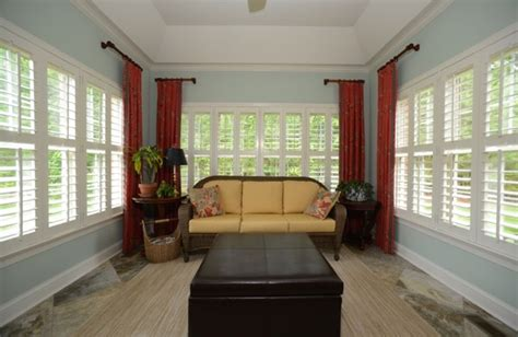 Sunroom Window Ideas by Window Treatment Ideas For Sunrooms Sunburst Shutters