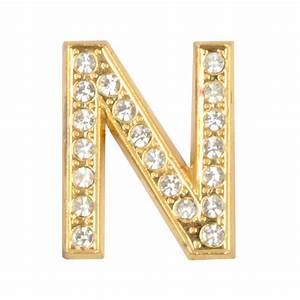masterdis special jewelz letter n men magnetic letter gold With gold letter n