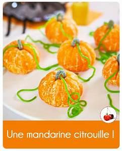 Une Citrouille Pour Halloween : mandarine en citrouille une recette pour halloween ~ Carolinahurricanesstore.com Idées de Décoration