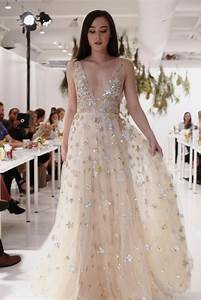 trending 2018 wedding trend forecast we39re seeing stars With star wedding dress