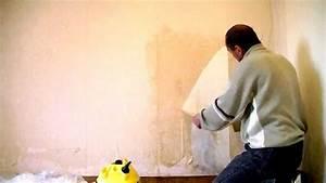 decoller papier peint intisse comment du vinyl 2 musee With decoller papier peint intisse