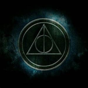 Deathly Hallows symbol wallpaper | Harry Potter ...