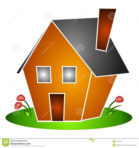 Isolated House Flowers Clipart Stock Illustration  Image 2776074