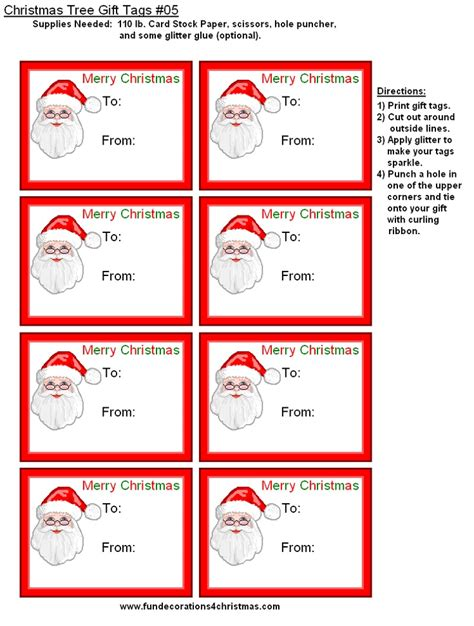 The first nibbles/snatches of the candy was done the. FREE Printable Christmas Gift Tags | All things Christmas ...